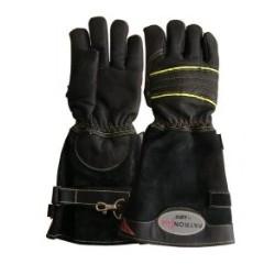Rękawice strażackie FHR 001 L skórzane długi mankiet (rozm. 8-12)
