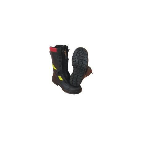 Buty strażackie FHR model 006 PL-N (skóra tłoczona, któtka cholewka o 5 cm)