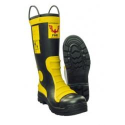 Buty strażackie gumowe FHR 003 (wraz z wkładką trudnopalną)